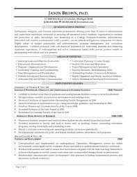 Professor Resume Sample by Sample Resume For A Technical Instructor Assistant Clinical