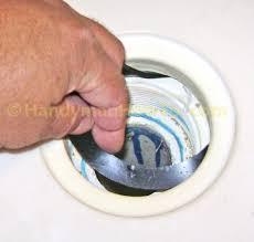 Bathtub Overflow Drain Gasket How To Fix A Leaky Shower Drain Install The New Gasket And Drain