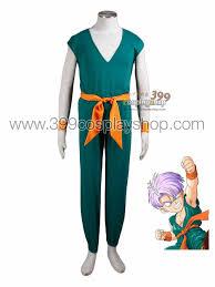 Dragon Ball Halloween Costumes Dragon Ball U2013 Young Trunks Cosplay Costume Dragon Ball Costumes