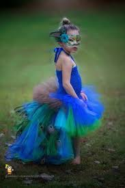 Halloween Peacock Costume Peacock Feather Bustle Tutu Halloween Costume Pageant Dance