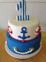 nautical cake 1st birthday nautical cake
