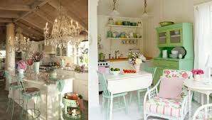 shabby chic idea in any kitchen styles both modern and classy
