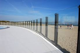 piscine en verre garde corps oostduinkerke sadev architectural glass systems