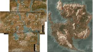map size comparison witcher 3 blood wine how it compares in size with the