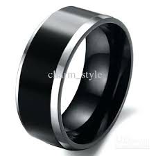 mens black wedding bands black wedding rings mens mens black wedding bands canada slidescan