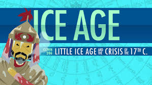 climate change chaos ice age crash