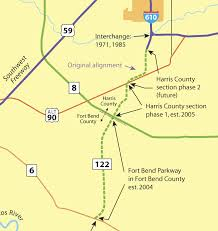 harris county toll road map fort bend parkway construction photos