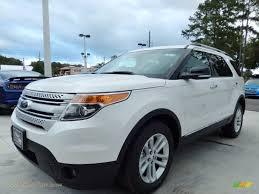 Ford Explorer 2014 - 2014 ford explorer xlt in white platinum a86090 jax sports