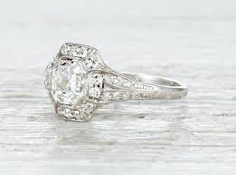 art deco wedding ring u2013 blushingblonde