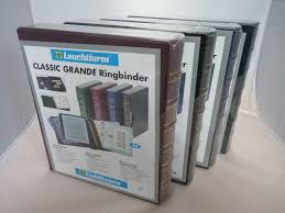 Photo Albums For Sale Lighthouse Classic Grande 4 Ring Ringbinder Coin Banknote Album
