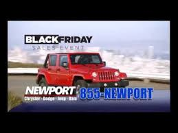 black friday and thanksgiving sale at newport chrysler dodge jeep