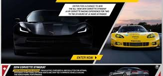 race to win corvette 2014 corvette stingray race to win a chevy corvette c7 gm