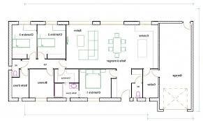 plan de maison 4 chambres plain pied plan maison 120m2 4 chambres