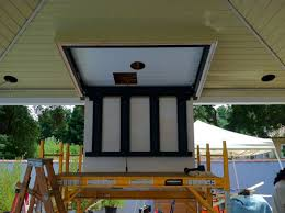 Build Outdoor Tv Cabinet Atherton Ca Outdoor Audio Video Entertaining Project Continues