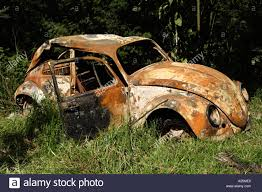 volkswagen car beetle old abandoned rusty old vw beetle car stock photo royalty free image