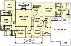 Bedroom House Design  Bedroom Sloping Roof Villa In  Square - Four bedroom house design