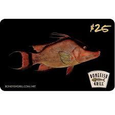 bonefish gift card bonefish grill gift card