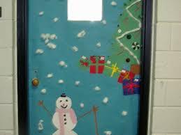 office 21 office door christmas decorating ideas winter door