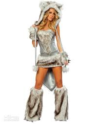 women costume 2017 wolf animal costumes for women wolf costume gray