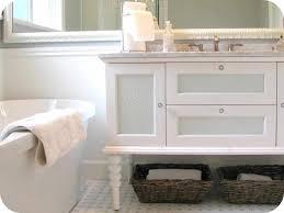 Black And White Bathroom Furniture by White Bathroom Cabinet Caruba Info