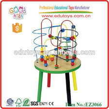 wooden bead toy table activity racking labyrinth table bead maze table wooden toys buy