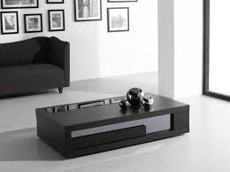 modern black end table the coffee table contemporary glass modern square within black