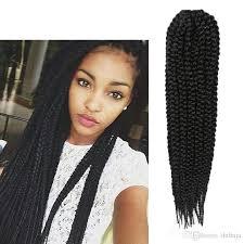 how to crochet black women hair 100 human hair synthetic senegalese twist box braid hair 14 12rootssmall havana