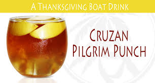 thanksgiving boat drink recipe cruzan pilgrim punch