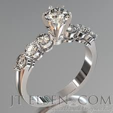 all wedding rings images Pave diamond enagement rings antique style engagement ring round jpg