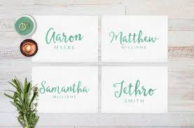 wedding place cards wedding reception decor place cards wedding