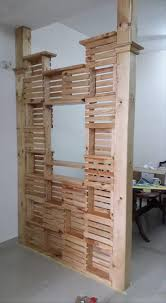 Room Divider Decor - wondrous office room partition ideas diy pallet office room office