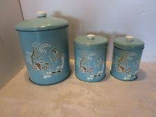 tin kitchen canister metal ebay