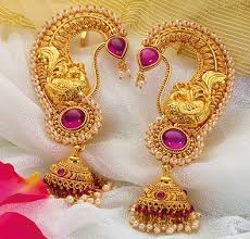 kaan earrings traditional maharashtrian jewellery designs jewellery designs