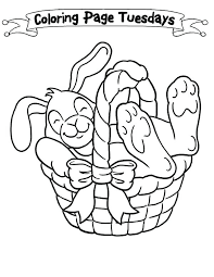 blank easter baskets blank easter basket coloring page a sleepy bunny inside the