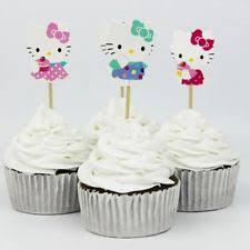 hello cupcake toppers hello cupcake toppers ebay