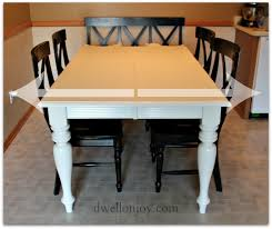 Dining Room Table Refinishing by Attractive Refinishing Kitchen Table Including The Dining Room