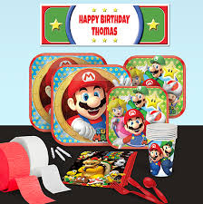 mario party supplies mario birthday party supplies theme party packs