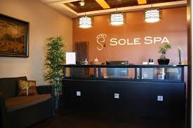 Spa Reception Desk Reception Desk Picture Of Sole Spa Edmonton Edmonton Tripadvisor