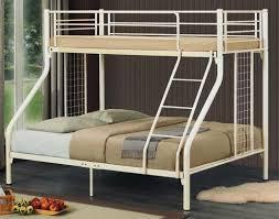 Single Over Queen Size Metal B End   AM - Queen single bunk bed