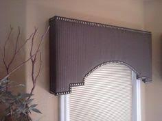 Curtain Cornice Ideas Cornice Box Embellished With Diamond Head Upholstery Tacks Photo