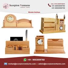 Desk Organizers Wood by Wooden Desk Organizer Buy Wooden Desktop With Clock Wood Desk
