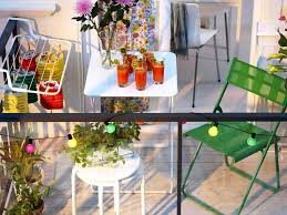 Small Space Patio Furniture by Covered Outdoor Patio Colorful Flowerpots For Small Balcony