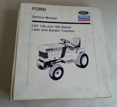 new holland ford lgt 14d u0026 16d diesel tractor service repair