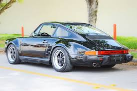 80s porsche 1985 porsche 911 factory m491 wide body turbo look real muscle