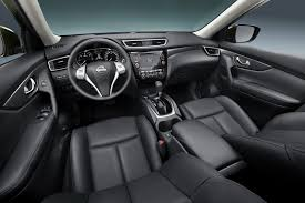 nissan rogue interior new nissan rogue x trail compact suv pictures and details