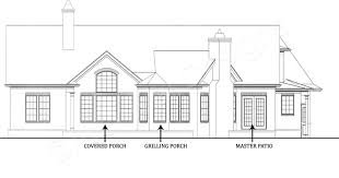 house plans with covered porch da small cottage design empty nester house plans