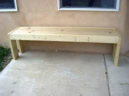 Wood Garden Bench Plans by Simple Outdoor Wooden Bench Simple Garden Bench Ideas House Simple