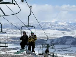 Golden Chair Lift The Canyons Ski Resort The New Big Kid In Park City