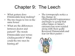the scarlet letter chapter 9 16 summary docoments ojazlink