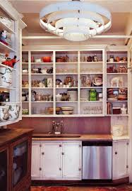 Kitchen Without Cabinet Doors Open Kitchen Display Shelves